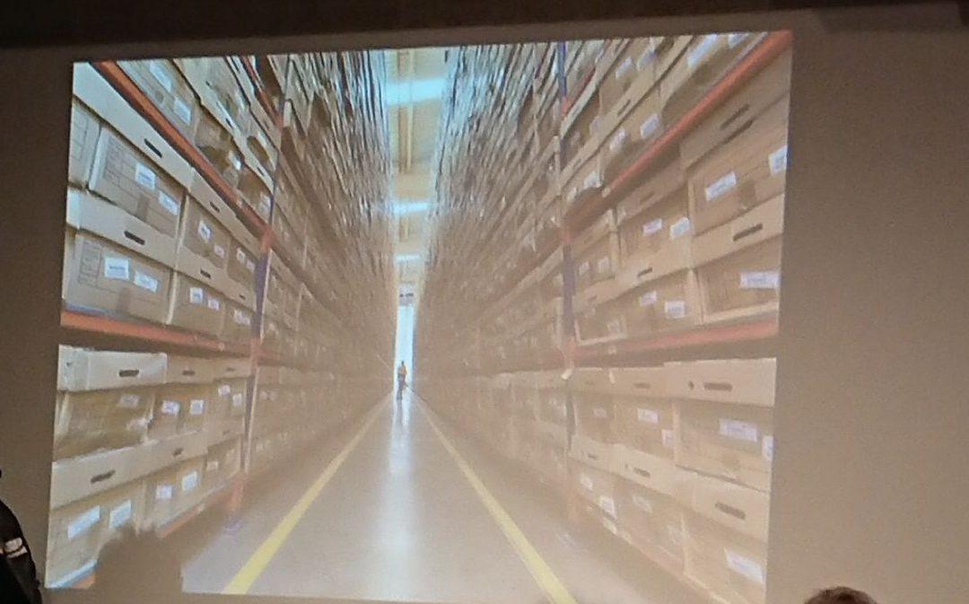 Destrucción selectiva del archivo de expedientes del COAM