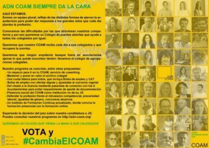 2019_05_07 Presentación de ADN COAM a la JUNTA DE REPRESENTANTES
